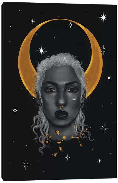 Lady Of The Moon I Canvas Art Print