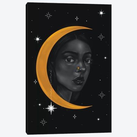 Lady Of The Moon ll Canvas Print #SSZ29} by Stephanie Sanchez Canvas Artwork