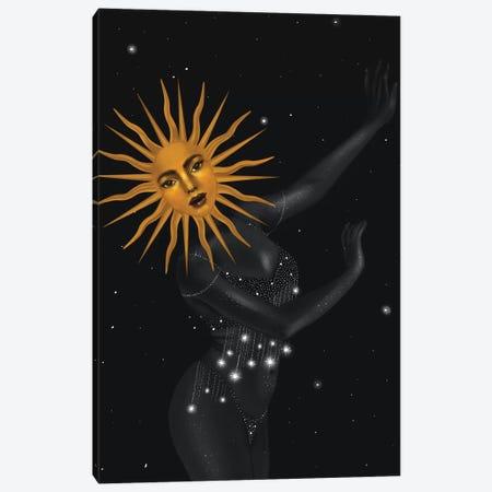 The Dancing Sun Canvas Print #SSZ34} by Stephanie Sanchez Canvas Art