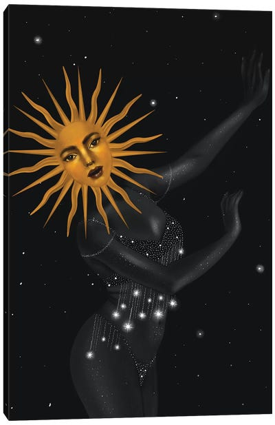The Dancing Sun Canvas Art Print