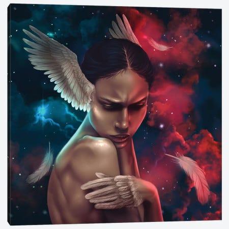 Anxious Canvas Print #SSZ35} by Stephanie Sanchez Canvas Artwork