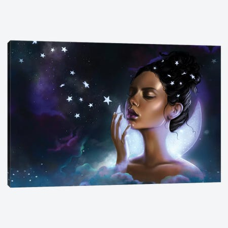 Celeste II Canvas Print #SSZ38} by Stephanie Sanchez Canvas Print