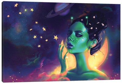 Galactic Canvas Art Print