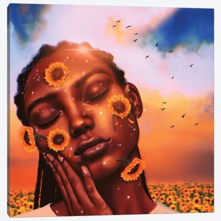 Sunshine Canvas Print #SSZ44} by Stephanie Sanchez Art Print