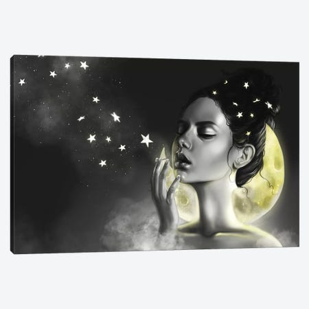 Celeste Canvas Print #SSZ4} by Stephanie Sanchez Canvas Print