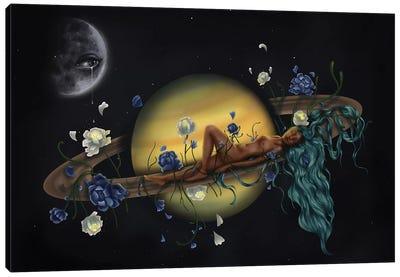 La Luna Sabes Todo Mi Secretos Canvas Art Print