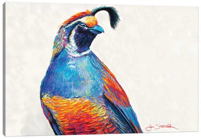 He Who Guards The Flock Canvas Art Print