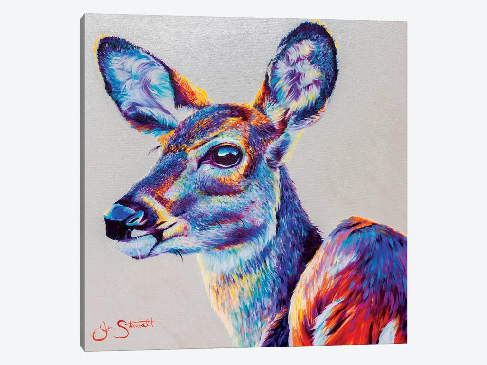 Gentle Spirit by Jen Starwalt 1-piece Canvas Art Print