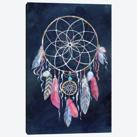 Dreamcatcher, Dark Canvas Print #STC103} by Stephanie Corfee Canvas Art Print