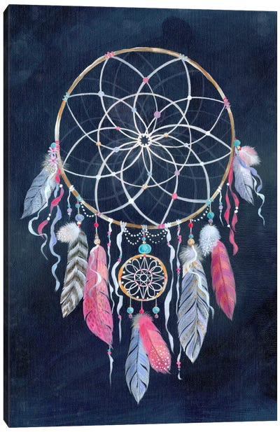 Dreamcatcher, Dark Canvas Art Print