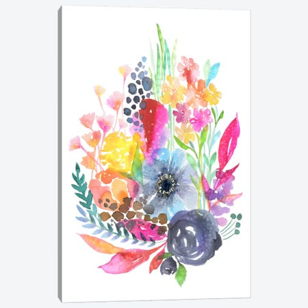 Fairy Garden Canvas Print #STC106} by Stephanie Corfee Canvas Wall Art