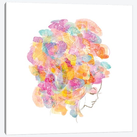 Bouffant No. 2 Canvas Print #STC10} by Stephanie Corfee Canvas Print
