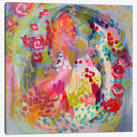 Flower Bath Canvas Print #STC113} by Stephanie Corfee Canvas Art