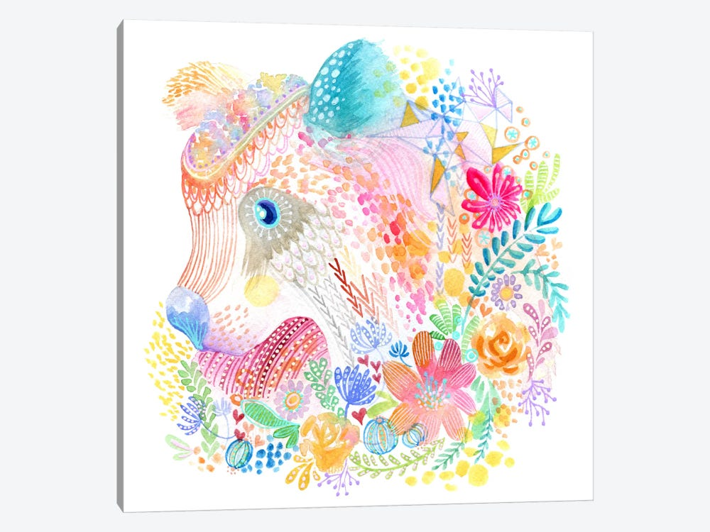 Flower Cub by Stephanie Corfee 1-piece Art Print