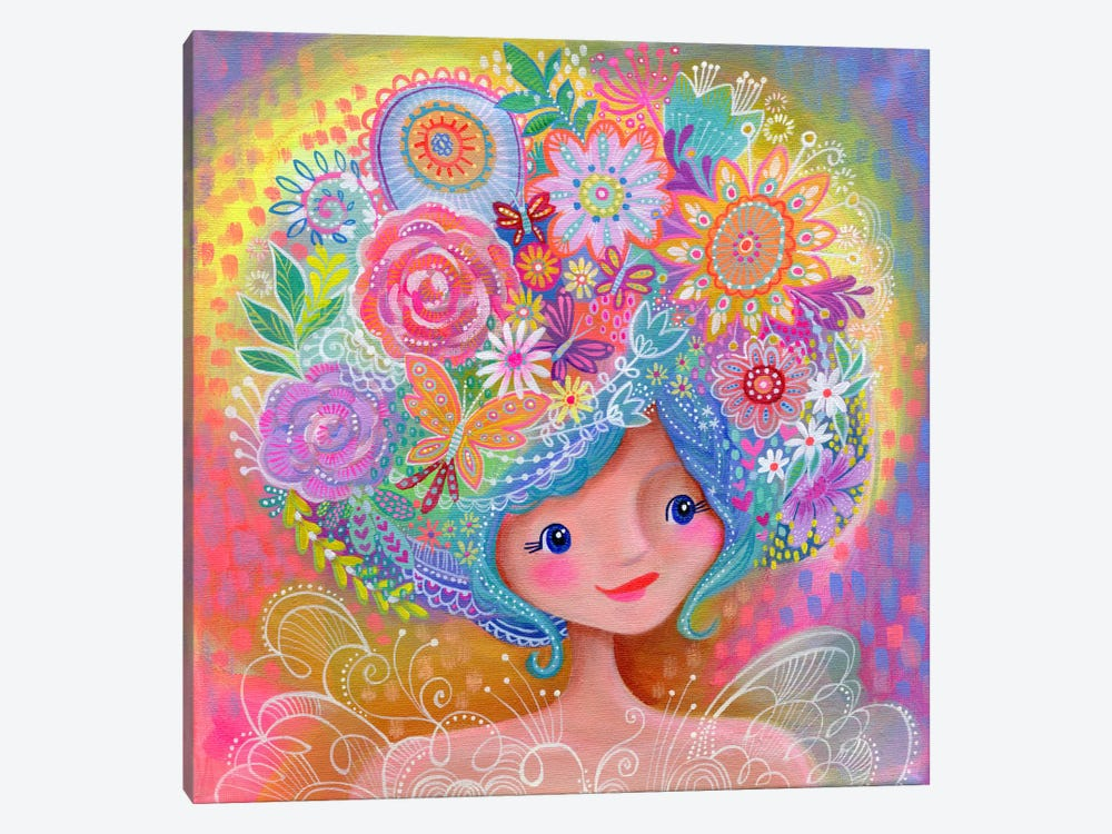 Garden Fairy by Stephanie Corfee 1-piece Canvas Artwork