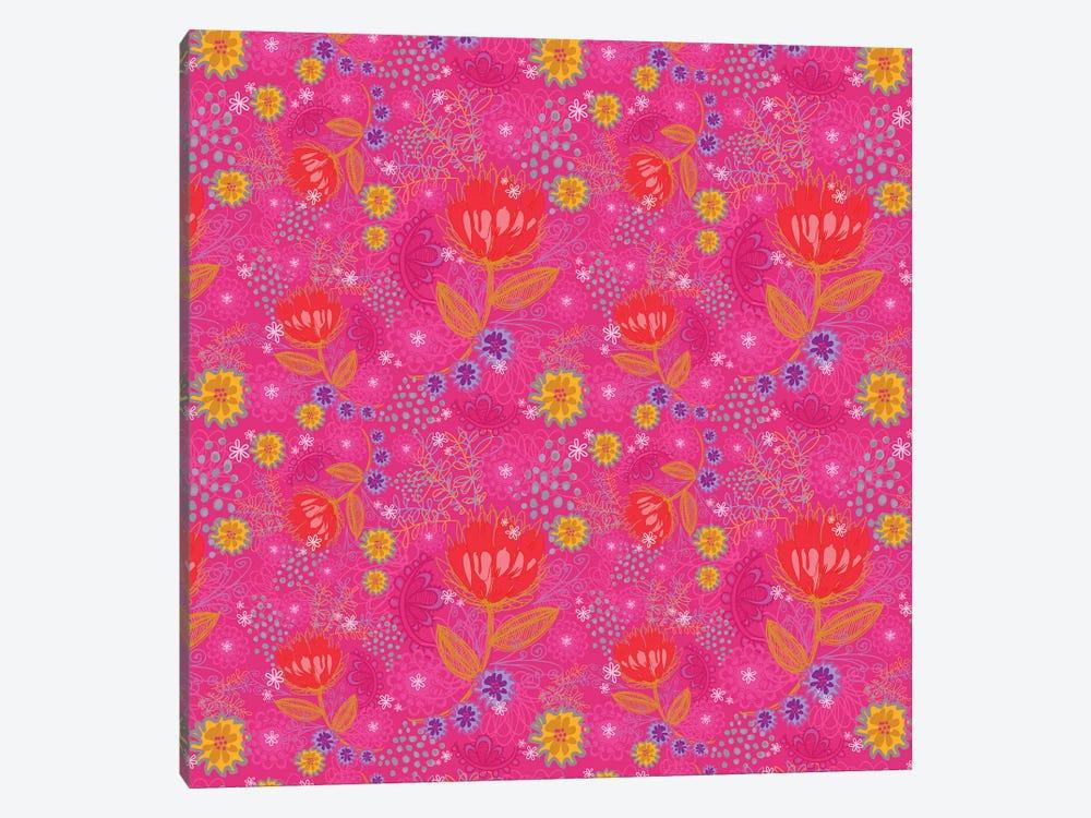 Bright Bouquet by Stephanie Corfee 1-piece Canvas Wall Art