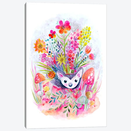 Hedgehog Canvas Print #STC121} by Stephanie Corfee Canvas Print