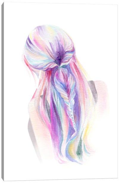 Mermaid Braid Canvas Art Print