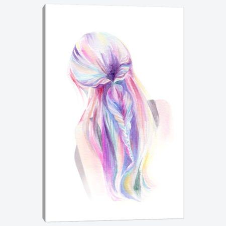 Mermaid Braid Canvas Print #STC129} by Stephanie Corfee Canvas Art Print