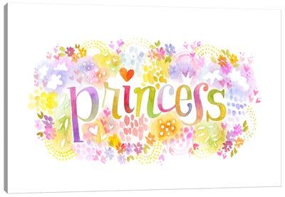 Princess Nickname Canvas Art Print
