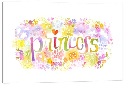Princess Nickname Canvas Art Print