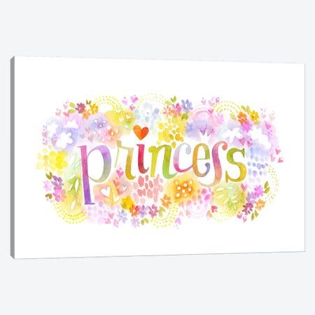 Princess Nickname Canvas Print #STC142} by Stephanie Corfee Art Print