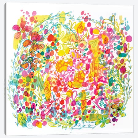 Bubble Garden Canvas Print #STC14} by Stephanie Corfee Canvas Artwork