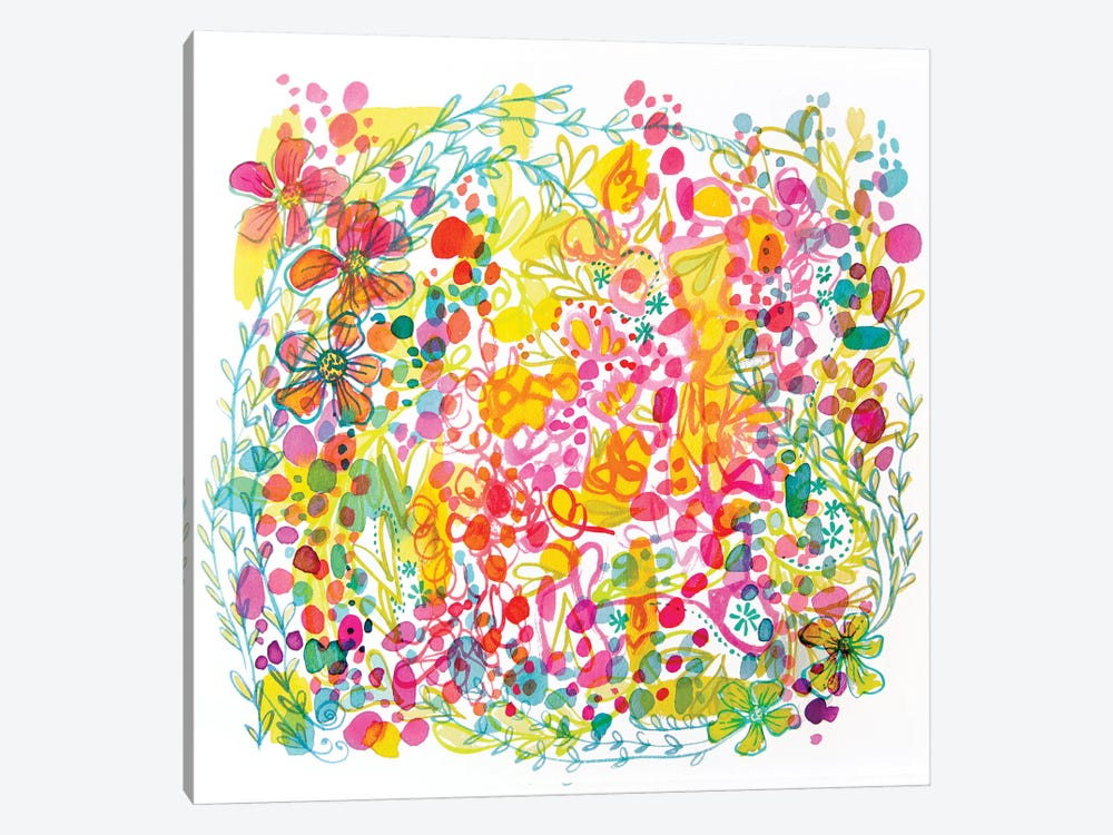 Bubble Garden by Stephanie Corfee 1-piece Canvas Art Print
