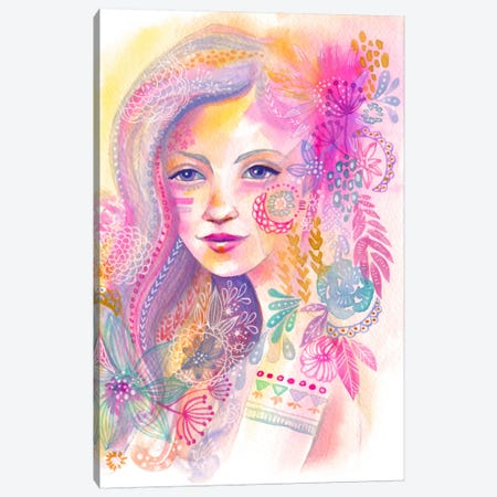Sunset Nymph Canvas Print #STC150} by Stephanie Corfee Canvas Art