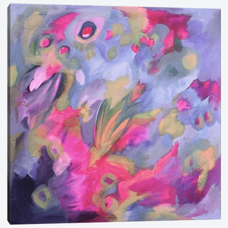Violet Shock Canvas Print #STC152} by Stephanie Corfee Canvas Artwork