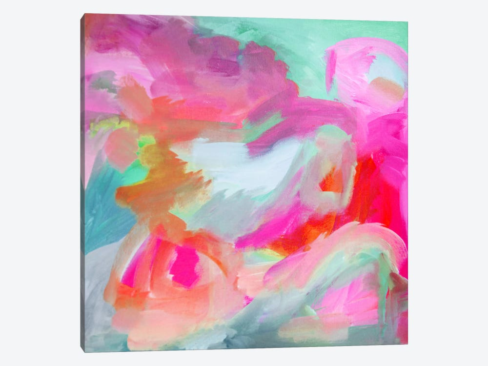 What The Heart Wants by Stephanie Corfee 1-piece Canvas Wall Art