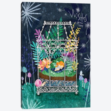 Wishes Terrarium Canvas Print #STC163} by Stephanie Corfee Canvas Art Print