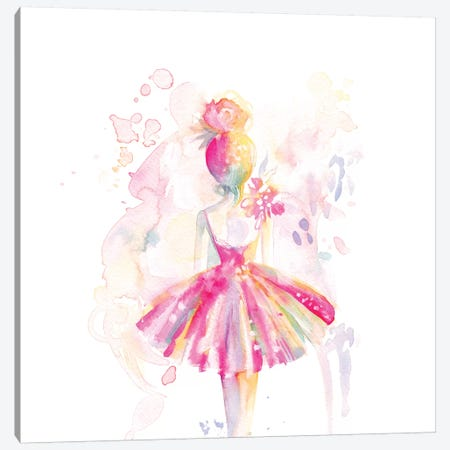 Ballerina Back Canvas Print #STC168} by Stephanie Corfee Canvas Print