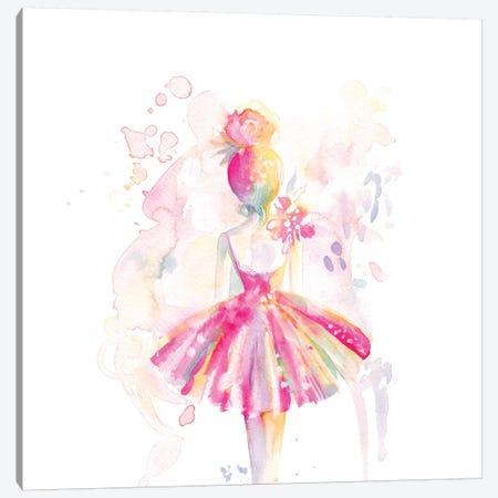 Ballerina Back Canvas Print #STC168} by Stephanie Corfee Canvas Print