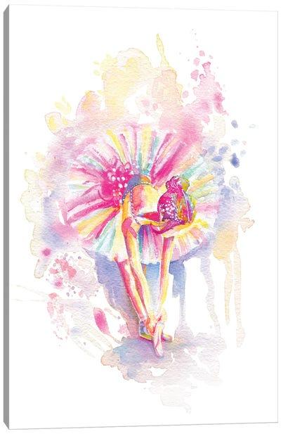 Ballerina Bend Canvas Art Print