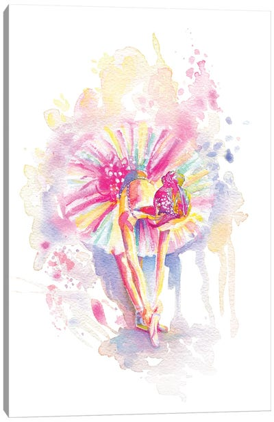 Ballerina Bend Canvas Art Print