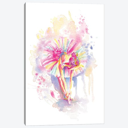 Ballerina Bend Canvas Print #STC169} by Stephanie Corfee Canvas Art Print