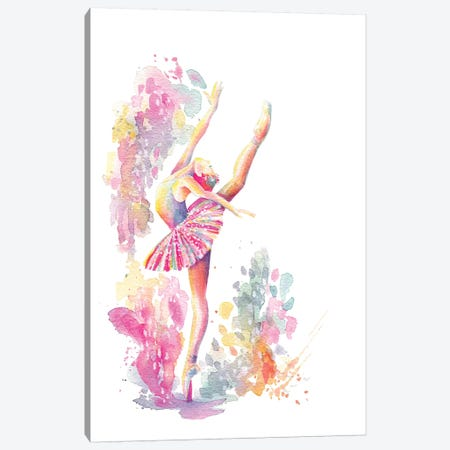 Ballerina Grande Canvas Print #STC170} by Stephanie Corfee Canvas Art