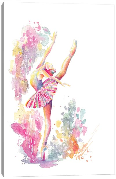 Ballerina Grande Canvas Art Print