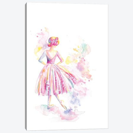 Ballerina Long Tutu Canvas Print #STC171} by Stephanie Corfee Canvas Art