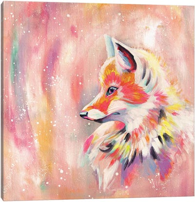 Magic Fox Canvas Art Print