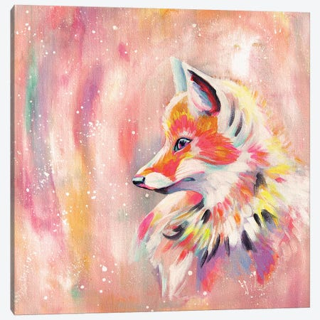Magic Fox Canvas Print #STC178} by Stephanie Corfee Canvas Artwork