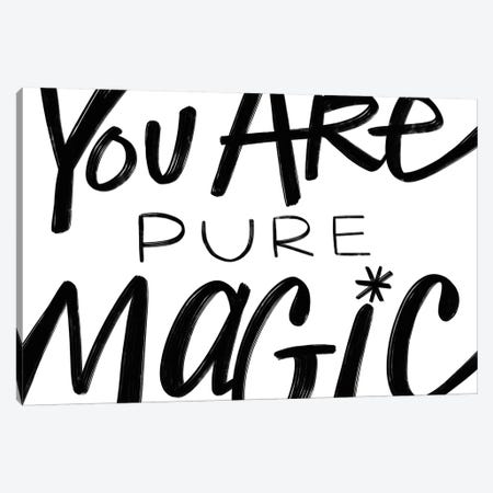 Pure Magic In Black And White Canvas Print #STC179} by Stephanie Corfee Canvas Artwork