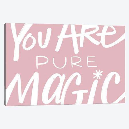 Pure Magic In Pink  Canvas Print #STC180} by Stephanie Corfee Canvas Art Print
