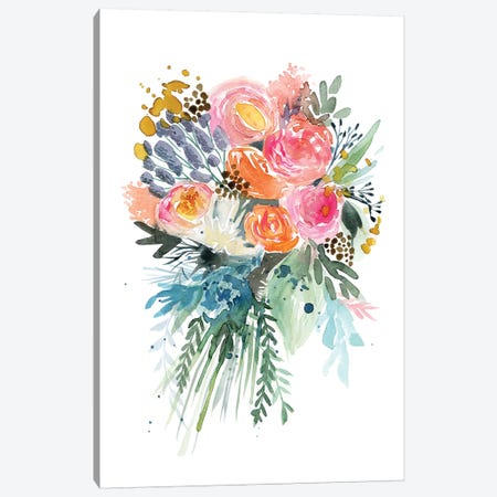 Spring Bouquet Canvas Print #STC184} by Stephanie Corfee Canvas Art