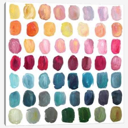 Color Palette Canvas Print #STC18} by Stephanie Corfee Canvas Print