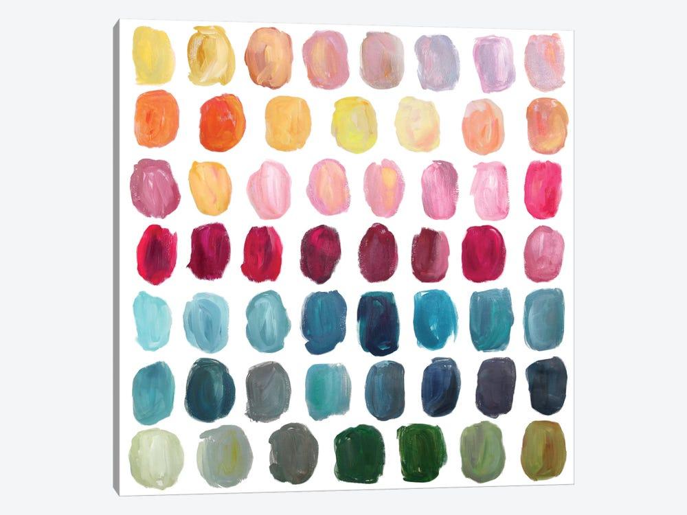 Color Palette by Stephanie Corfee 1-piece Canvas Print