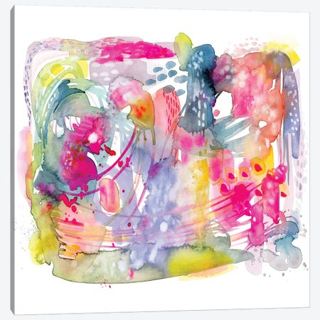 Colorful Chaos Canvas Print #STC19} by Stephanie Corfee Art Print