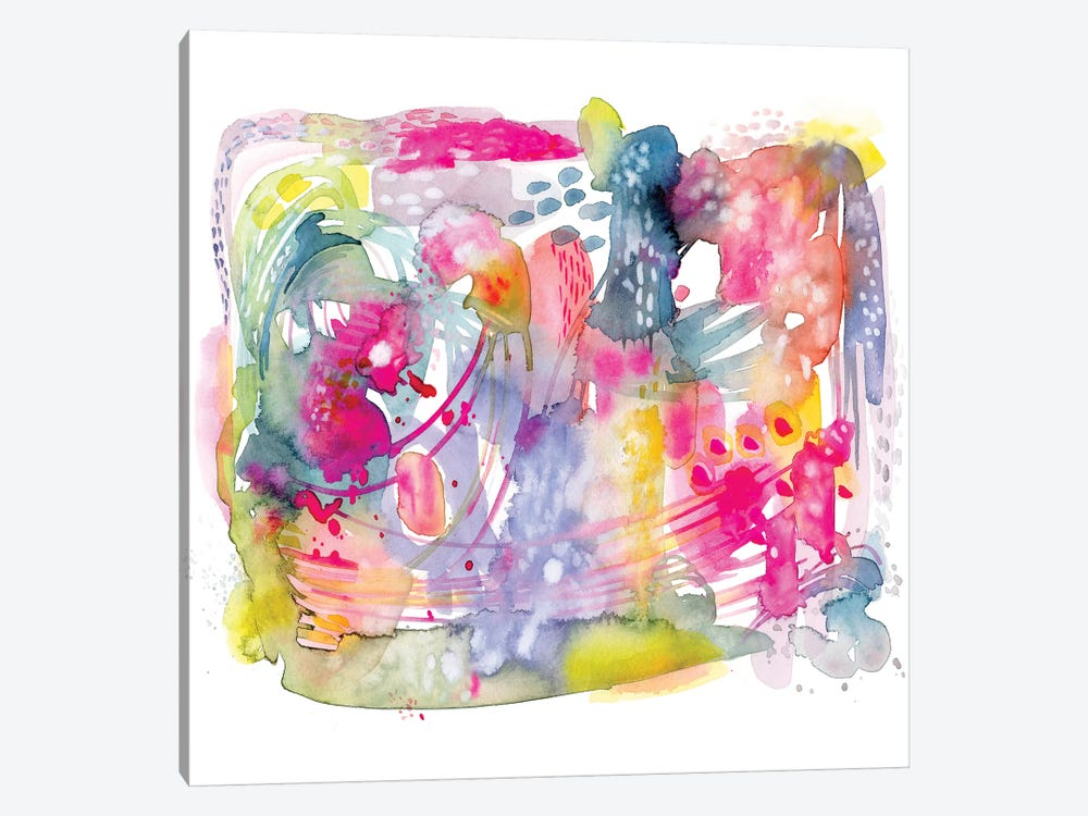 Colorful Chaos by Stephanie Corfee 1-piece Canvas Artwork