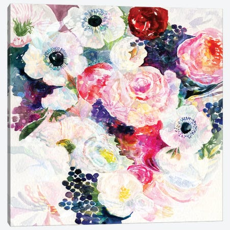 Abundance Bouquet Canvas Print #STC1} by Stephanie Corfee Canvas Art Print
